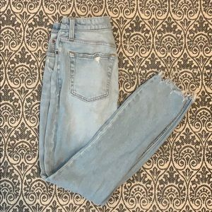 Abercrombie and Fitch high waisted  slim jeans